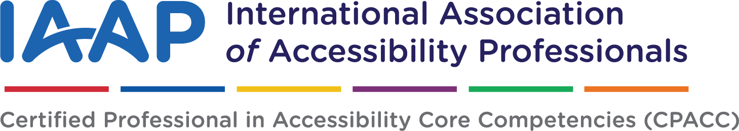 Internation Association of Accessibility Professionals Logo
